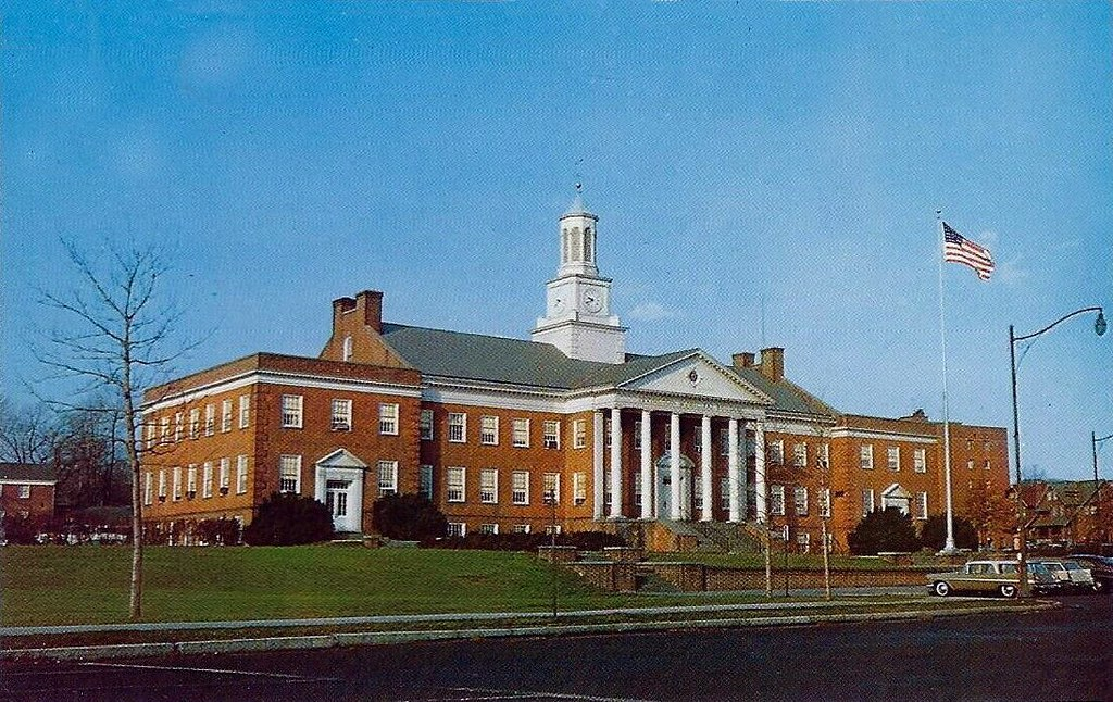 Irvington Town Hall (NJ) postcard