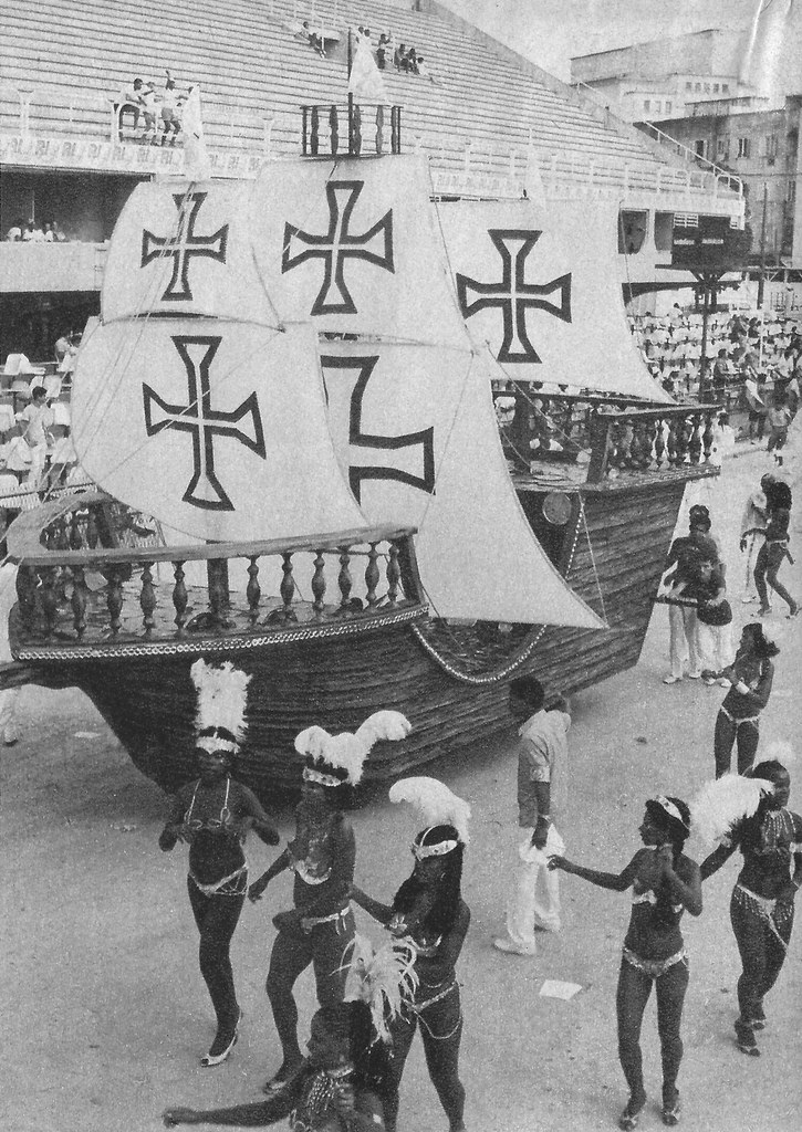 Carnaval, Rio de Janeiro, 1987, Sambódromo, Unidos da Tijuca, Caravela