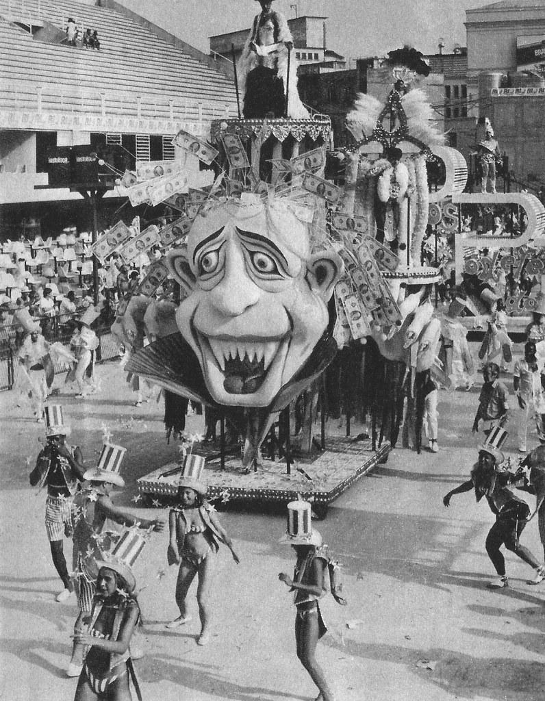 Carnaval, Rio de Janeiro, 1987, Sambódromo, Unidos da Tijuca