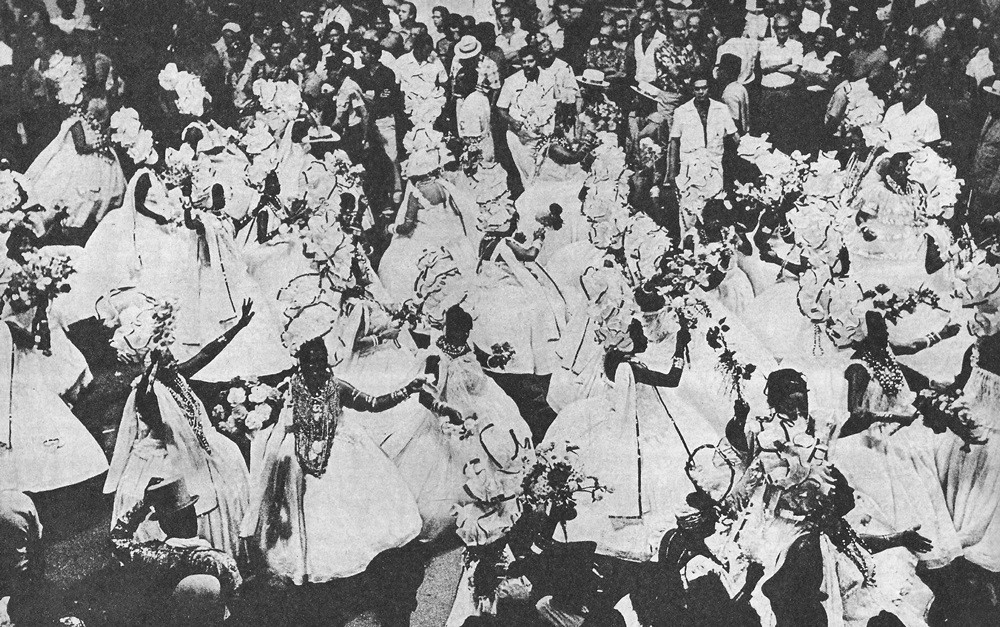 Carnaval, Rio de Janeiro, 1974, Unidos de Vila Isabel, Baianas
