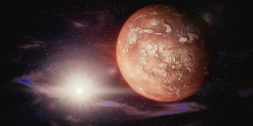Des nuages martiens peuvent naître de météorites déchiquetées
