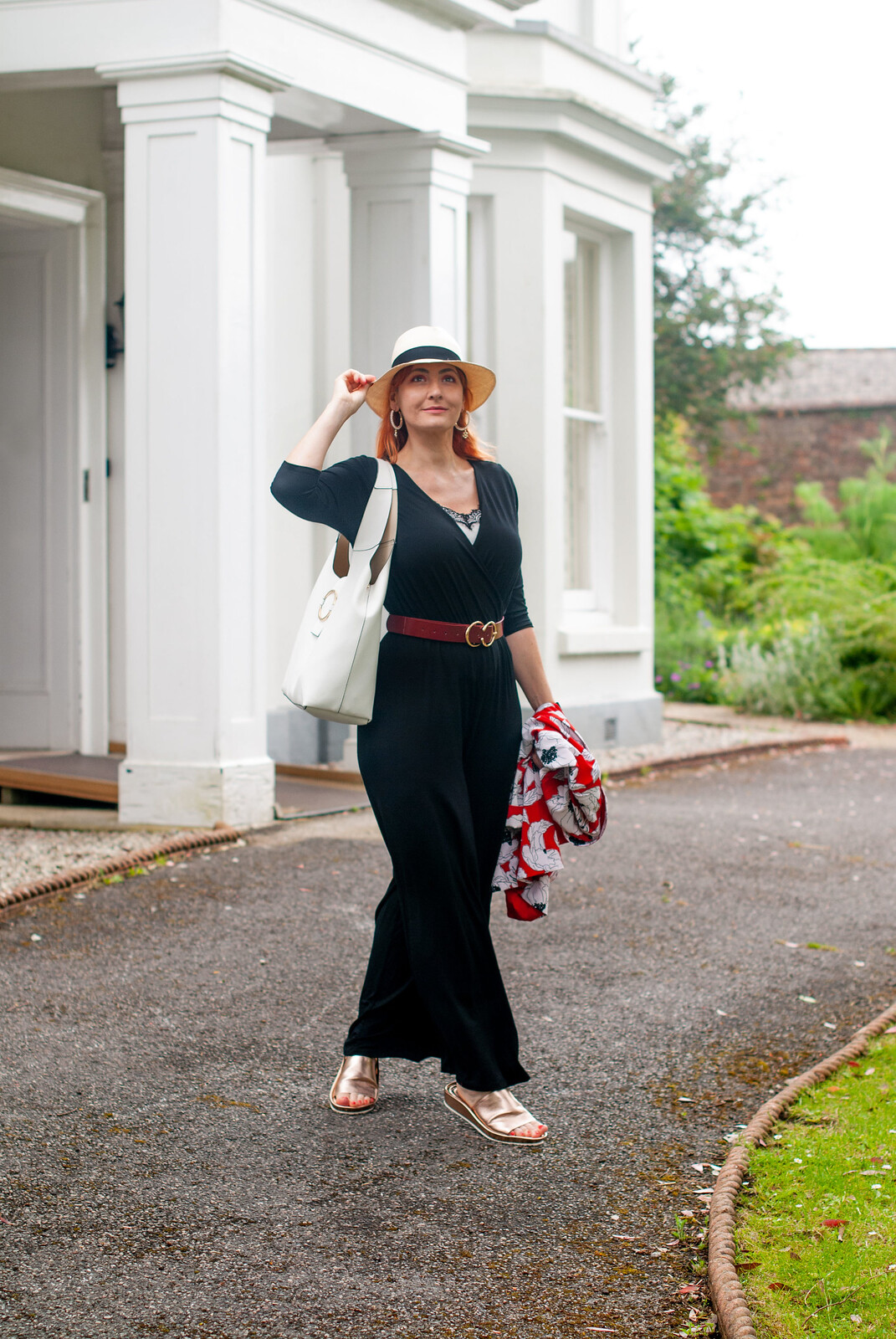 The Ever-Versatile Black Jumpsuit - Perfect for Summer | Not Dressed As Lamb, over 40 style