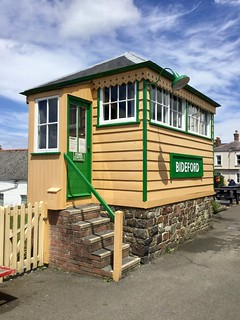 Bideford Replica Signal Box 15.6.2019