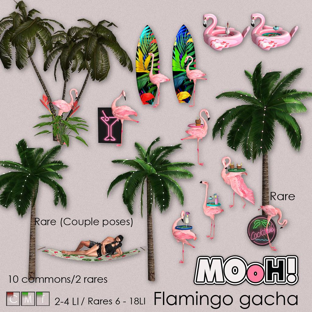 MOoH! Flamingo gacha