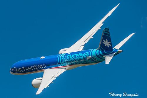 [LBG] Air Tahiti Nui Dreamliner Boeing 787-9 _ F-OVAA _ N1015X