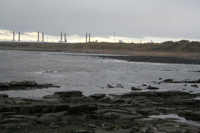 View towards Lynemouth from Cresswell