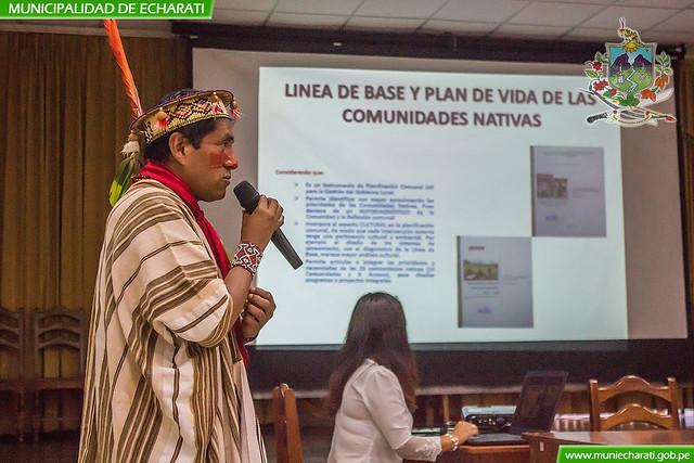 Municipalidad de Echarati socializa planes de vida de comunidades originarios amazónicos