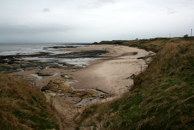 The beach south of Cresswell