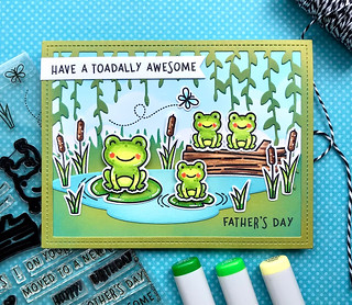 Have a Toadally Awesome Father's Day