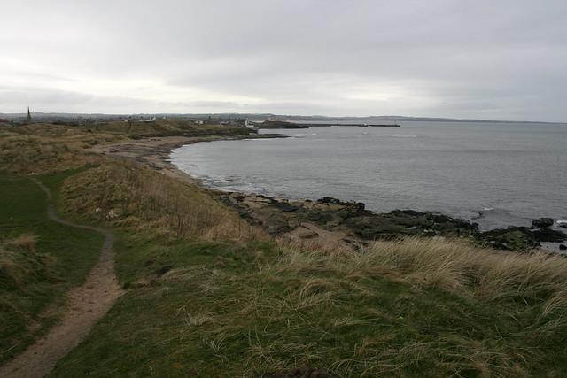 The beach at Amble