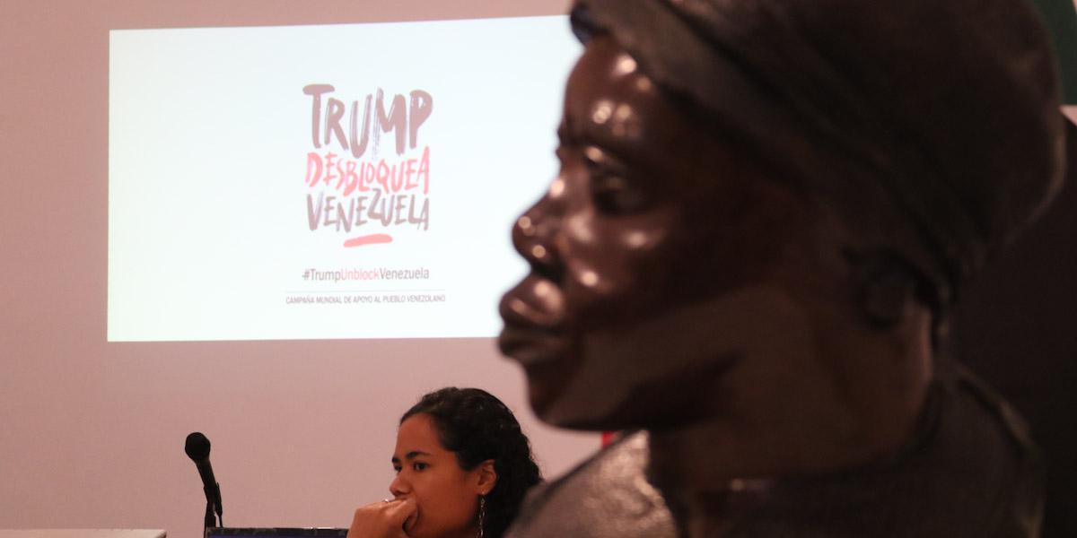 Pueblo Afrovenezolano le hace frente al bloqueo económico impuesto por EEUU