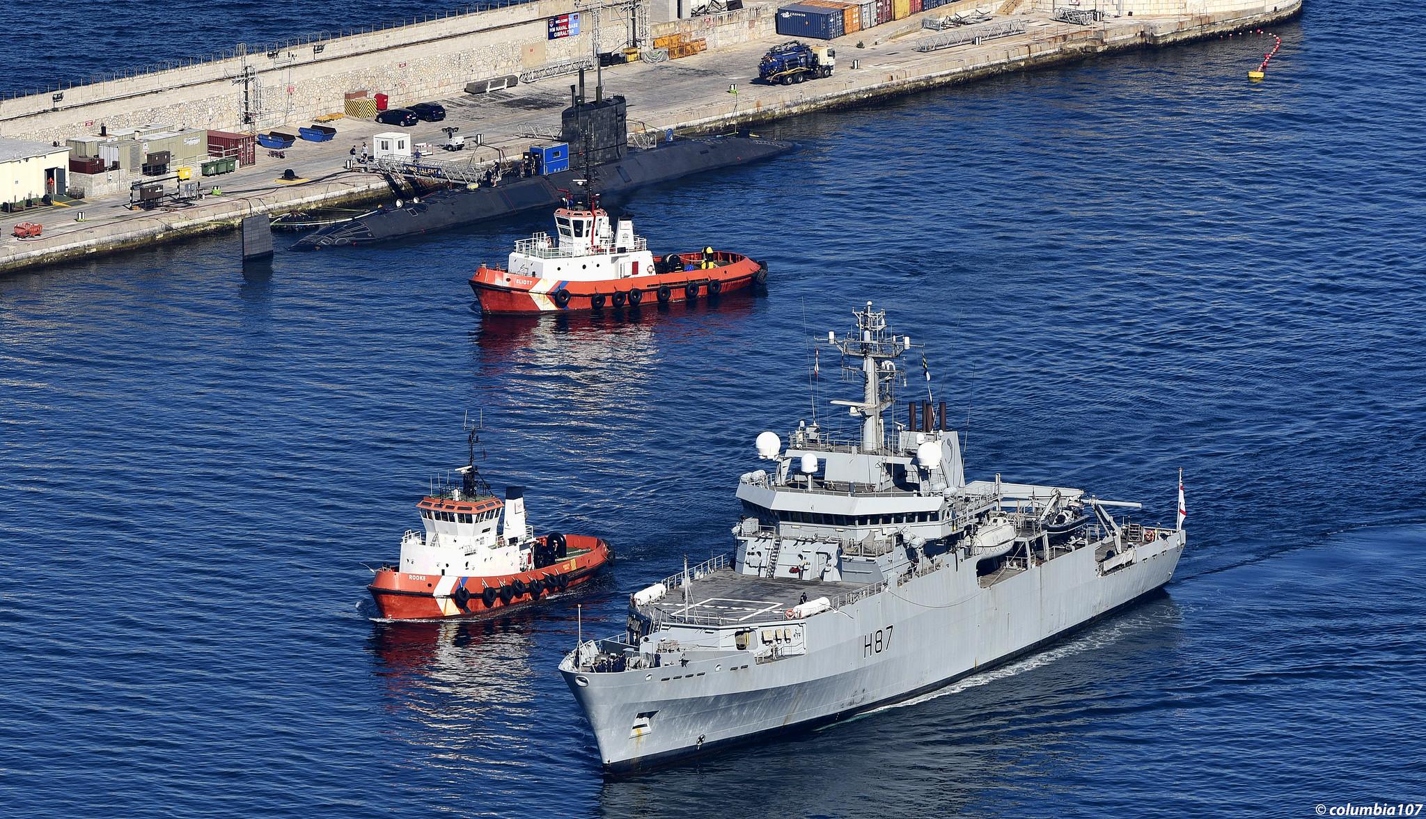 Survey & Hydrographic/Oceanographic Vessels - Page 4 48088842832_50914b9b14_k