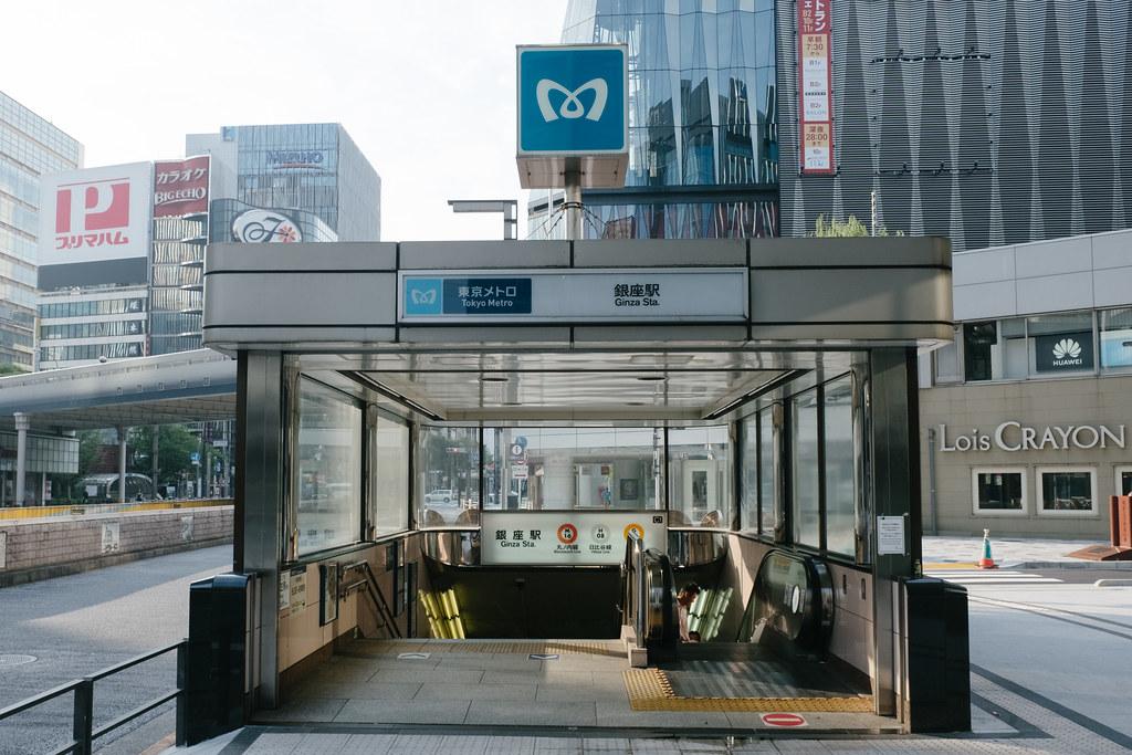 銀座駅 2019/06/19 X7001881