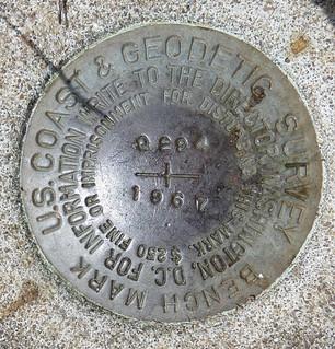 USCGS Bench Mark Q294 1967 Apalachicola FL