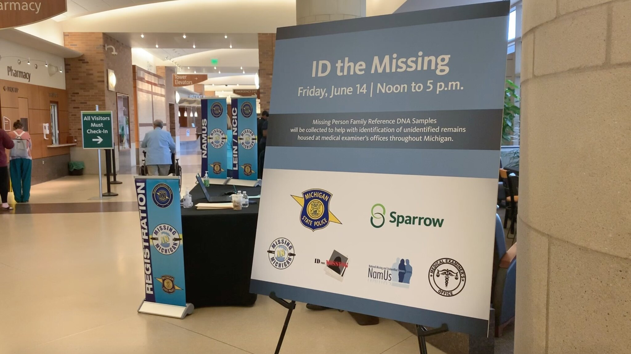 ID The Missing Event in Lansing