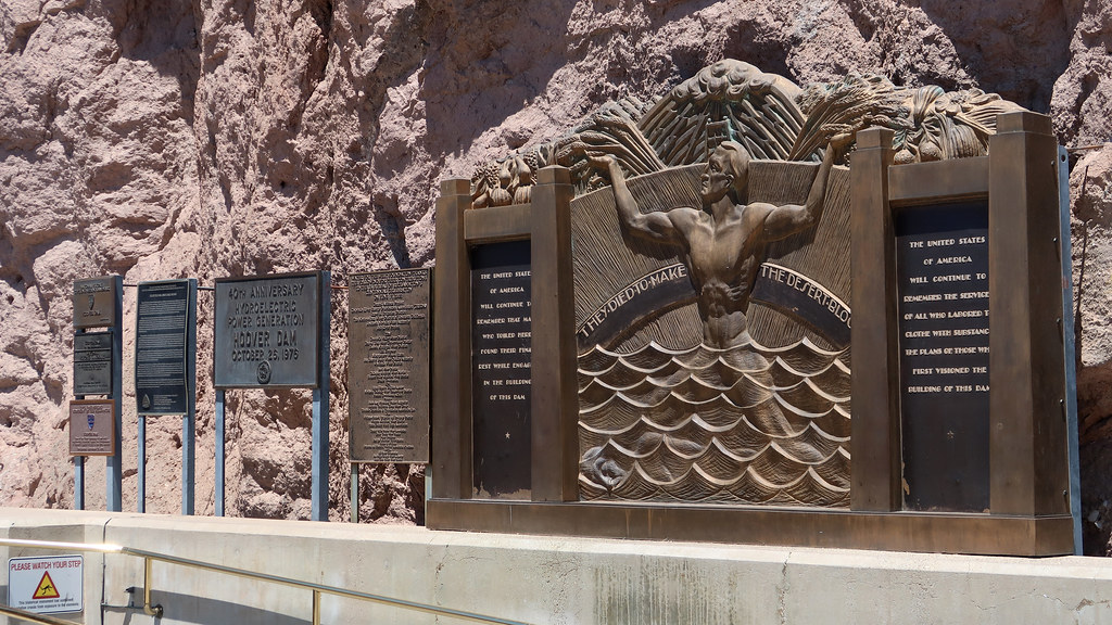 "Hoover Dam: ""They died to make the desert bloom"""