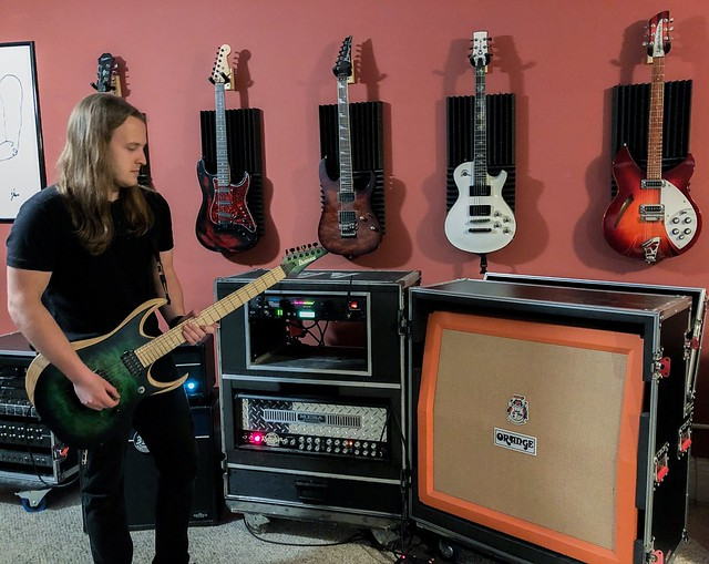 Geared Up: SILENT HEARTS Guitarist DAVID GAST Discusses His Affection for the Ibanez RGD Iron Label