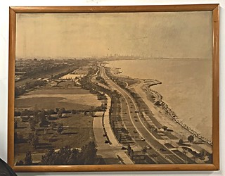 Chicago's Lake Shore Drive- a Historic Aerial View looking North