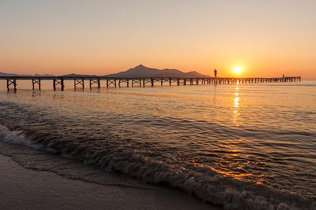 Sonnenaufgang in Alcudia