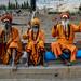Sadhus, Ghats; Varanasi