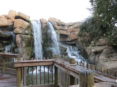 Waterfall inside the Park