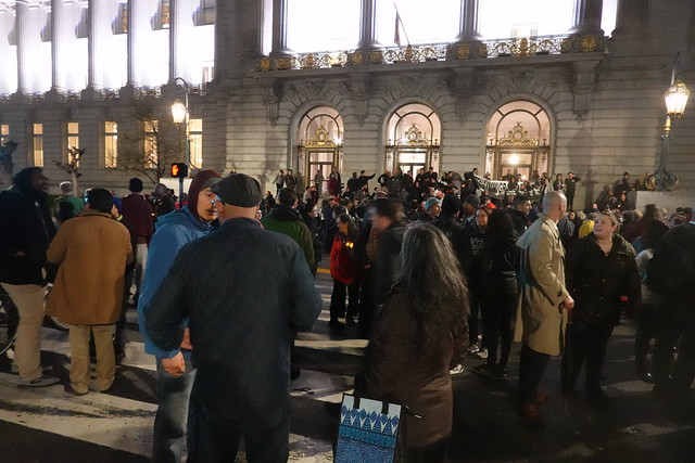 Jeff Adachi vigil Feb 27, 2019