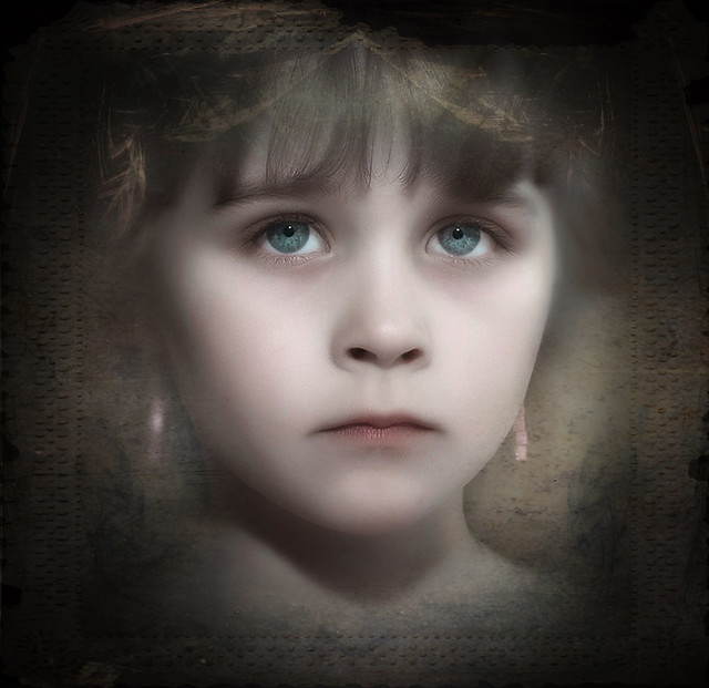 Little Blue Eyed Angel