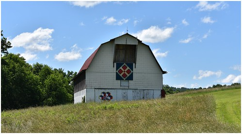 Barn Quilt Rural West Virginia