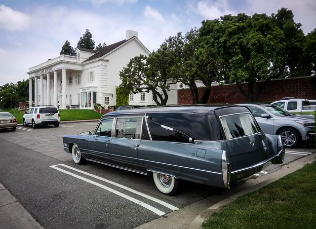 Forest Lawn Hearse - 1967 Cadillac