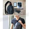 186-D056 Dahon大行-時尚背包-黑灰 Fashion Sling Bag(302110M)(Polyester布料)