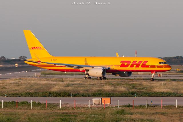 DHL B757-223PCF G-DHKR