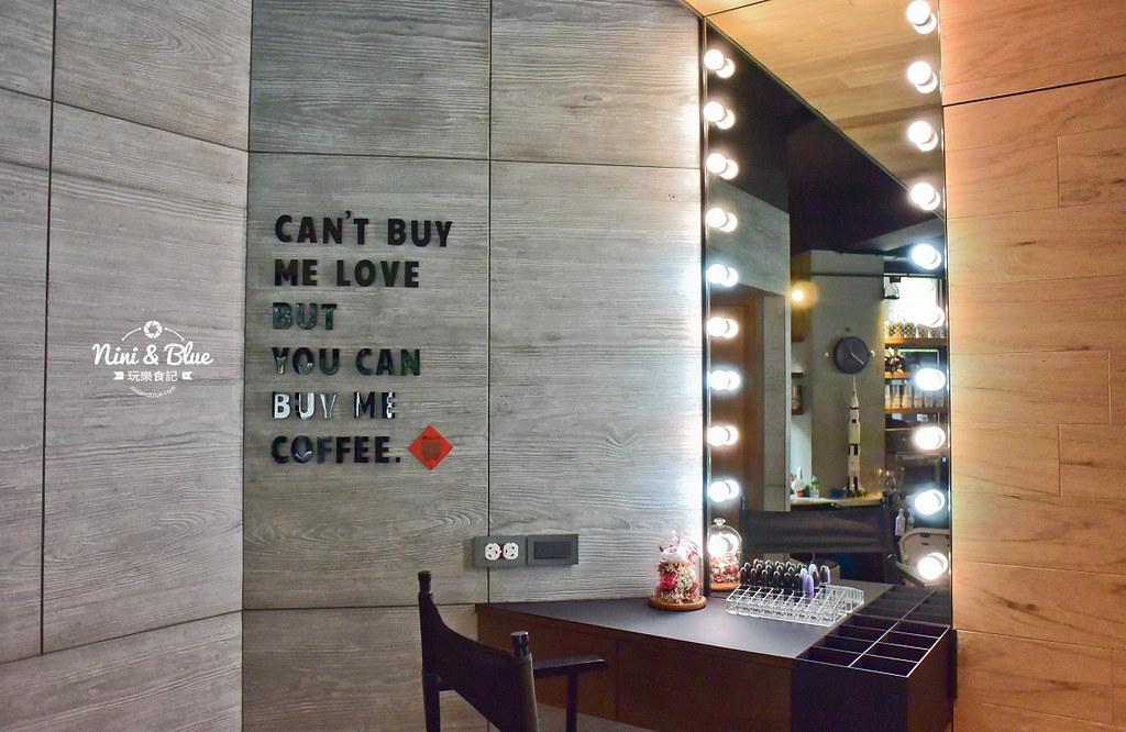 玖安飛飛 台中 中國醫 五常街 咖啡03