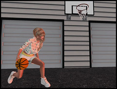 Applique Chic @ REDEUX withBackyard Basketball  by  Image Essentials