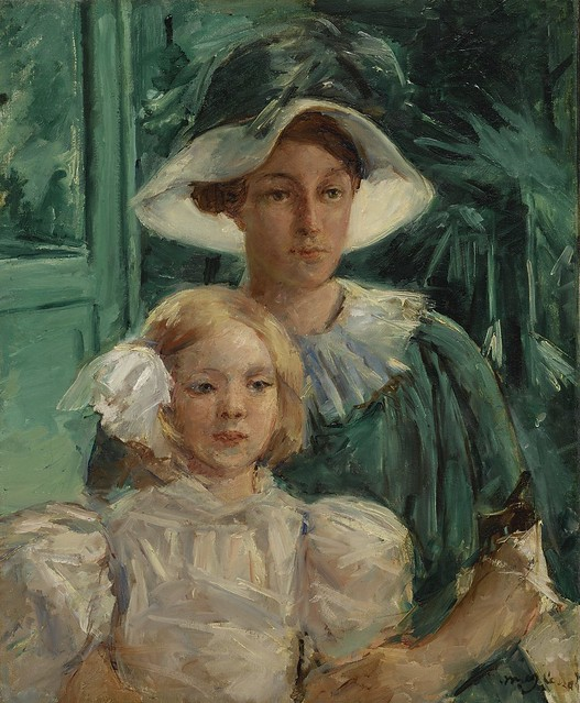 Mary Cassatt - Young Mother and Child [1914]