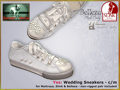 Bliensen - Yes - Wedding Sneakers