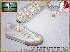 Bliensen - Yes - Wedding Sneakers