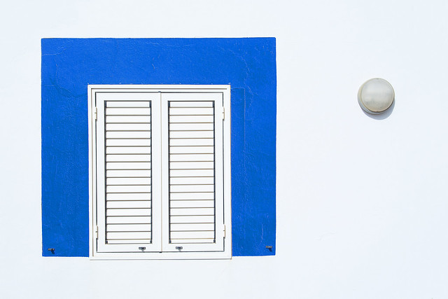 Blue window and lamp (on Explore)