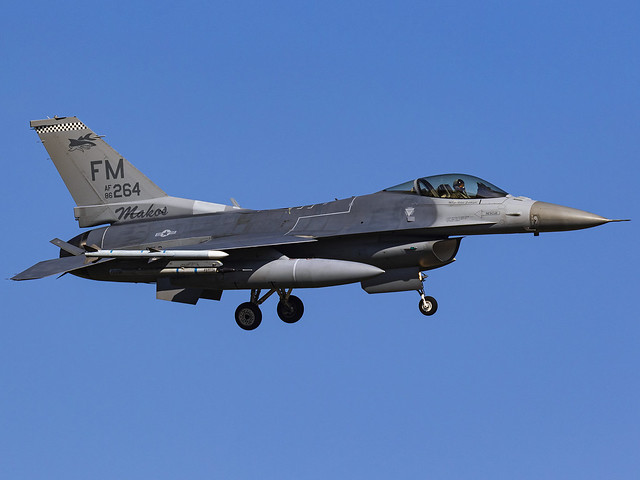 United States Air Force | General Dynamics F-16C Fighting Falcon | 86-0264