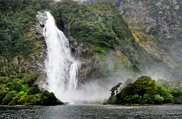 Lady Bowen Falls. NZ