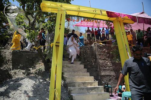 Arrival of Satguru Mata Ji in the SAtsang Bhawan
