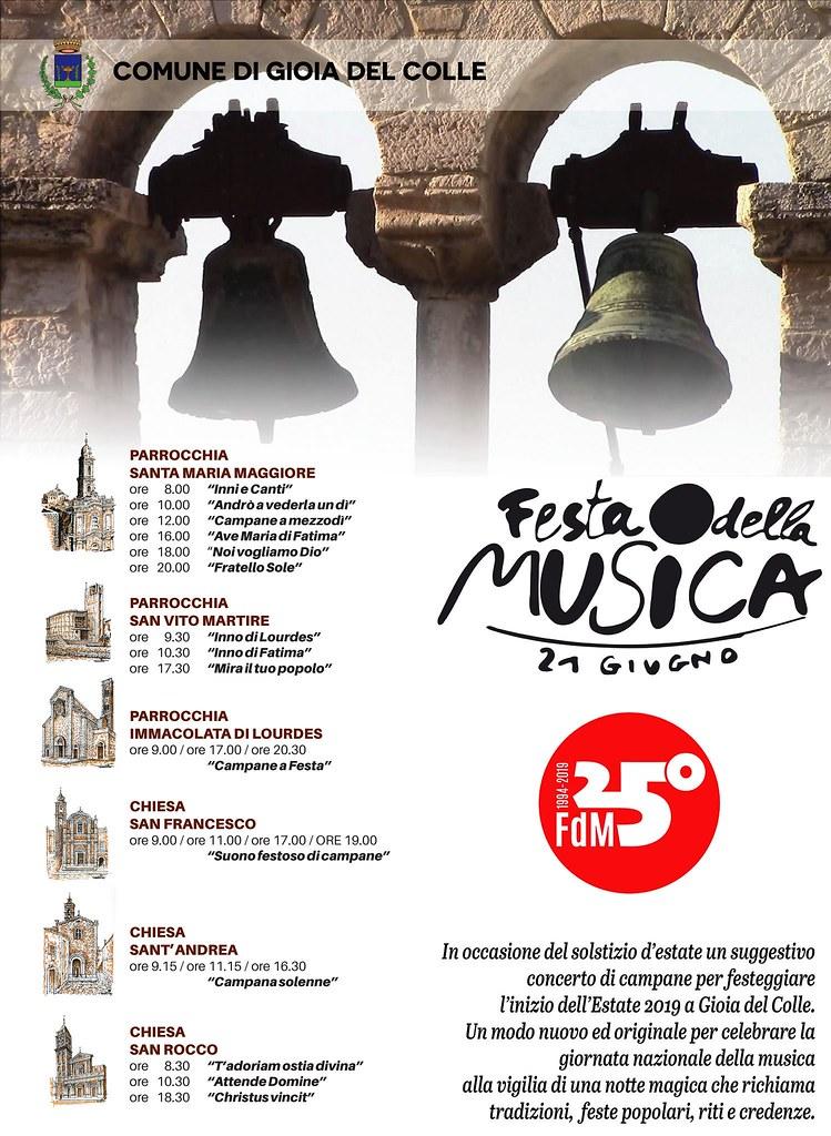 Suono Campane A Festa.Per La Festa Nazionale Della Musica Concerto Di Campanili