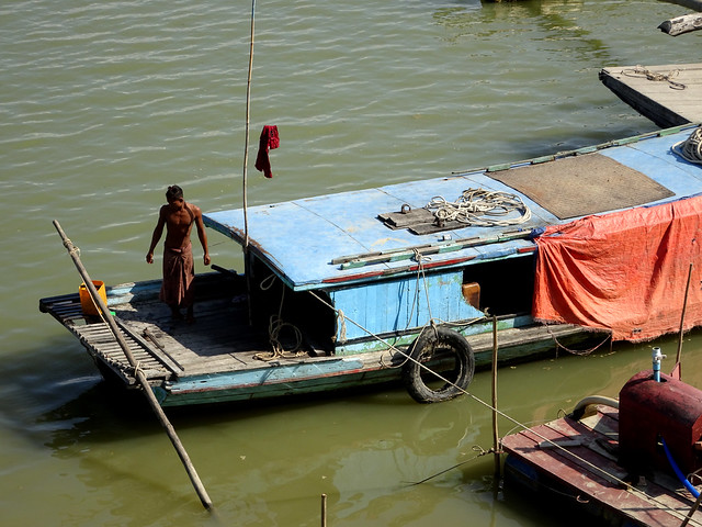 Life on the Irrawaddy River in Myanmar