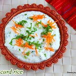 Millet curd rice