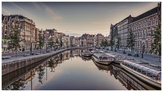 Early morning Amsterdam
