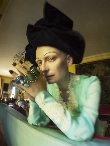 Tim Walker, Tilda Swinton, Renishaw Hall, Derbyshire, 2018 (c) Tim Walker Studio