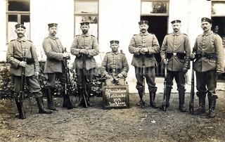 """5. Landsturm Feldwache 1914. Spitzberg"""