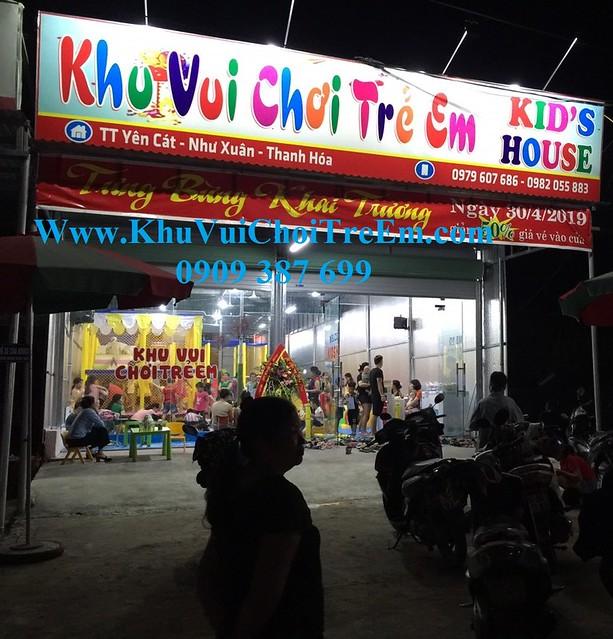 Khu vui chơi trẻ em NPY tại Như Xuân , Thanh Hóa