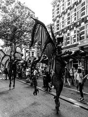 Street Parade Spui Straat BW III