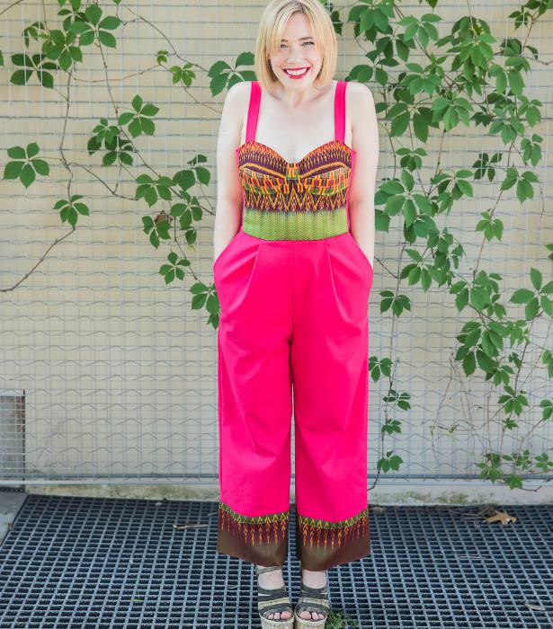 Meg Pink Jumpsuit