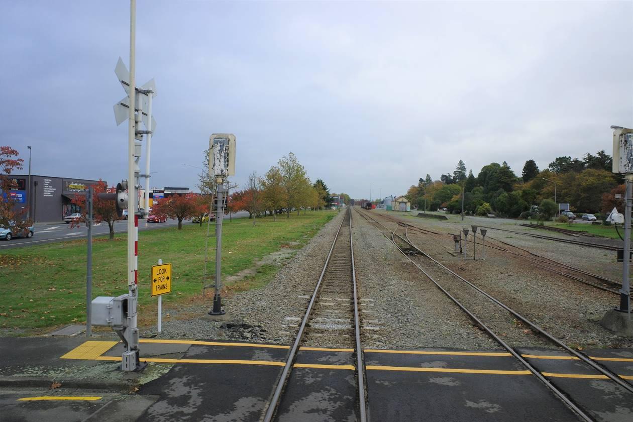 ニュージーランド・線路